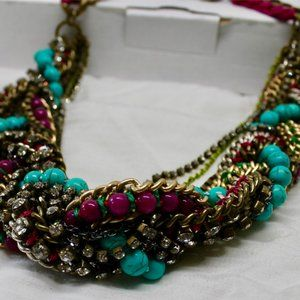 Stella and Dot Bamboleo Statement Necklace